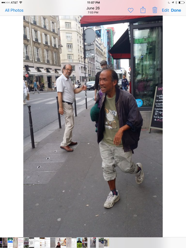 老木在巴黎